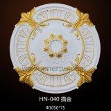 Ornamental PU Ceiling Medallion Polyurethane Plate Hn-040
