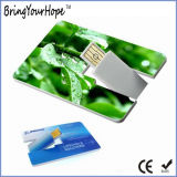 Ultrasonic Producing Credit Card USB Flash Drive (XH-USB-006)
