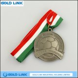 Metal Crafts Football Medal Custom Metal Medals Promotion Gift
