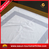 White Linen Jacquard Damask Tablecloth