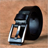 Cow Hide Leather Pin Buckle Belt
