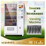 Cold Drinks Bottled Beverage Vending Machine with Advertisement Display Screen