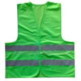 Polyester 120GSM knitting Safety Warning Vest Wk-8601