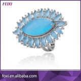 Big Cubic Zirconia Semi Joias Na China Fashion Jewelry Rings