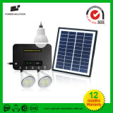 4W Solar Panel Kits with Three Lamps with Phone Charger