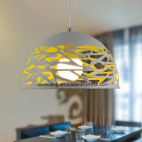 China Supply Modern Chandelier Pendant Lamp with Hole in Restaurant
