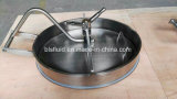 304 and 316 Stainless Steel Oval Manhole Cover