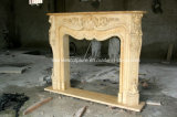 Hand Carved Antique Marble Fireplace (SY-MF188)