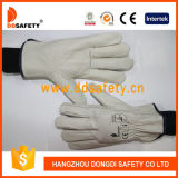 Ddsafety 2017 White Cow Grain Winter Safety Daily Gloves