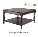 Square Wooden Center Coffee Cocktail Table HD916