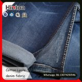 Dark Blue Twill Denim Fabric 98% Cotton 2% Spandex