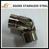 Ss 304 Ss 316 Stainless Steel Handrail Fittings Adjustable Handrail Elbow