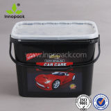 Durable Food Grade 5 Gallon Bucket with Lid and Handle