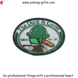 Customized Oval Shaped Embroidery Patch for Uniform (YH-EB052)