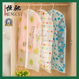 Transparent PE Suit Garment Cover with Colorful Printing