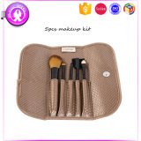 5PCS Promotional Custom Makeup Brush with Canvas Package