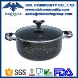 Nonstick Hard Anodizing Aluminium Casserole with Double Handle