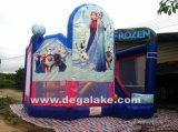 Inflatable Frozen Bouncy Slide Combo, Bounce Castle, Jumping Bouncer