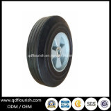 8X2 Inch Plastic Rim Solid Rubber Tyre / Wheel