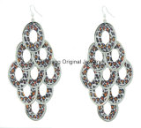 Fashion Jewelry with Leopard Print Earring (OJER-27522-3)