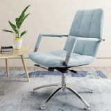 Blue Mesh Lounge Armchair for Home Living Furniture