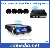 Solar Wireless Rearview Parking Sensor System with 4 Radar Sensor