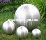 Fo-8007 Garden Brushed Stainless Steel Hollow Ball