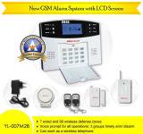 GSM Security Burglar Alarm System (YL-007M6BX)