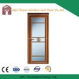Aluminium Room Door Design safety Glass Inside Opening Casement Door