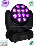 High Brightness CE RoHS 12PCS RGBW 4 in 1 CREE LED Moving Head Light Ys-213