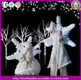 Wonderful Night Party Amazing Inflatable Stilts Performance Snowflake Costumes