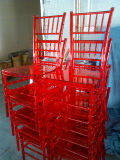 Clear Red Resin Tiffany Chair for Wedding