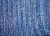 Indigo Blue Dye and Print Cotton Corduroy