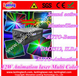 12W Animation DMX Outdoor Laser Disco Club Light