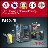 Bag Film Blowing Two Colour Gravure Printing Machine