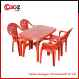 Plastic Furniture/Rectangular Dining Table/Chair Mould with Good Quality
