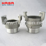Aluminum French Guillemin Coupling Fire Hose Coupling