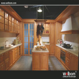 Oak Solid Wood Kitchen Cabinet