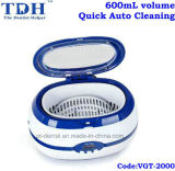 600ml Quick Auto Cleaning Dental Ultrasonic Cleaner (VGT-2000)
