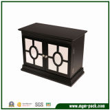 Classical Square Black Wooden Jewelry Box