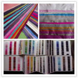 Polyester Nylon Chemical Woven Fabric with Printed