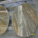 Popular Imperial Gold Granite Table Top/Bar/Counter Top