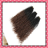 Hot Selling Brazilian Hair Two Tone Color Curly Hair 20inches