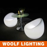 Round Illuminated LED Bar Indoor and Outdoor Chair