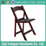 PP Mahogany Folding Chairs for Events