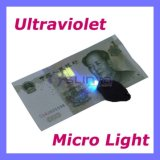 Micro 395nm Black Light LED UV Keychain Flashlight (PK-05)