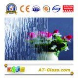 3-8mm Clear Rain-L Patterned Glass Used for Window, Furniture, etc