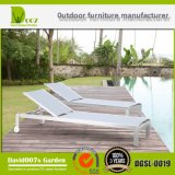 SGS Certificated Outdoor Pool Beach Adjustable Textilene Sun Lounger
