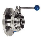 Stainless Steel Flanged Threaded Butterfly Valve