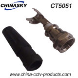 CCTV Male Solderless F Connector with Boot (CT5051)